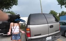 Riley Shea Gets Her Car Bill Lowered By Being A Dirty Slut