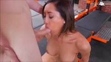Chloe Amour fucked in the gym